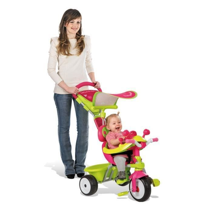 destockage smoby tricycle baby driver confort fille tricycle au meilleur prix cdiscount. Black Bedroom Furniture Sets. Home Design Ideas