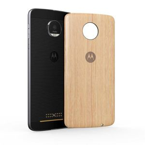COQUE - BUMPER MOTOROLA MODS cache-batterie Style bois washed oak