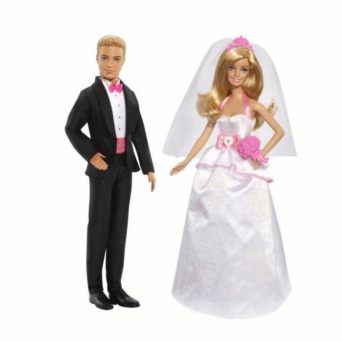 Barbie et ken mari s achat vente poup e cdiscount - Image barbie et ken ...