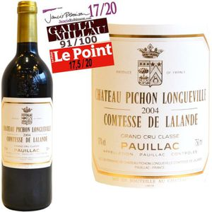 VIN ROUGE Pichon Comtesse Lalande Pauillac 2004 - Vin rouge