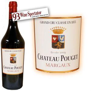 VIN ROUGE Château Pouget Margaux 2009