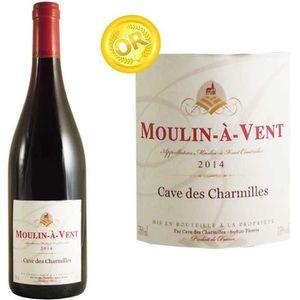 VIN ROUGE Cave des Charmilles Moulin à Vent 2014 - Vin rouge