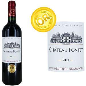 VIN ROUGE Château Pontet Grand Vin de Bordeaux Saint Emil...