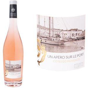 VIN ROSÉ Un apéro sur le Port Côtes de Provence 2015 - Vin