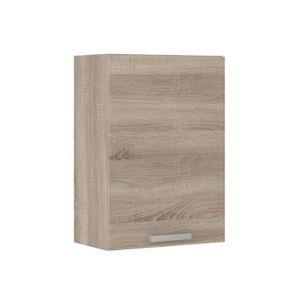 ÉLÉMENTS HAUT LASSEN Meuble haut de cuisine 40 cm - Décor chêne