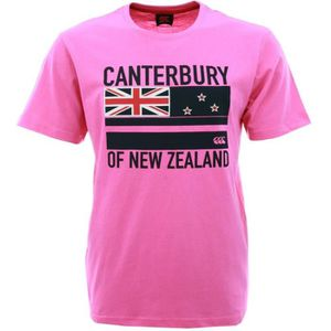 CANTERBURY T-shirt Flag Rugby Homme