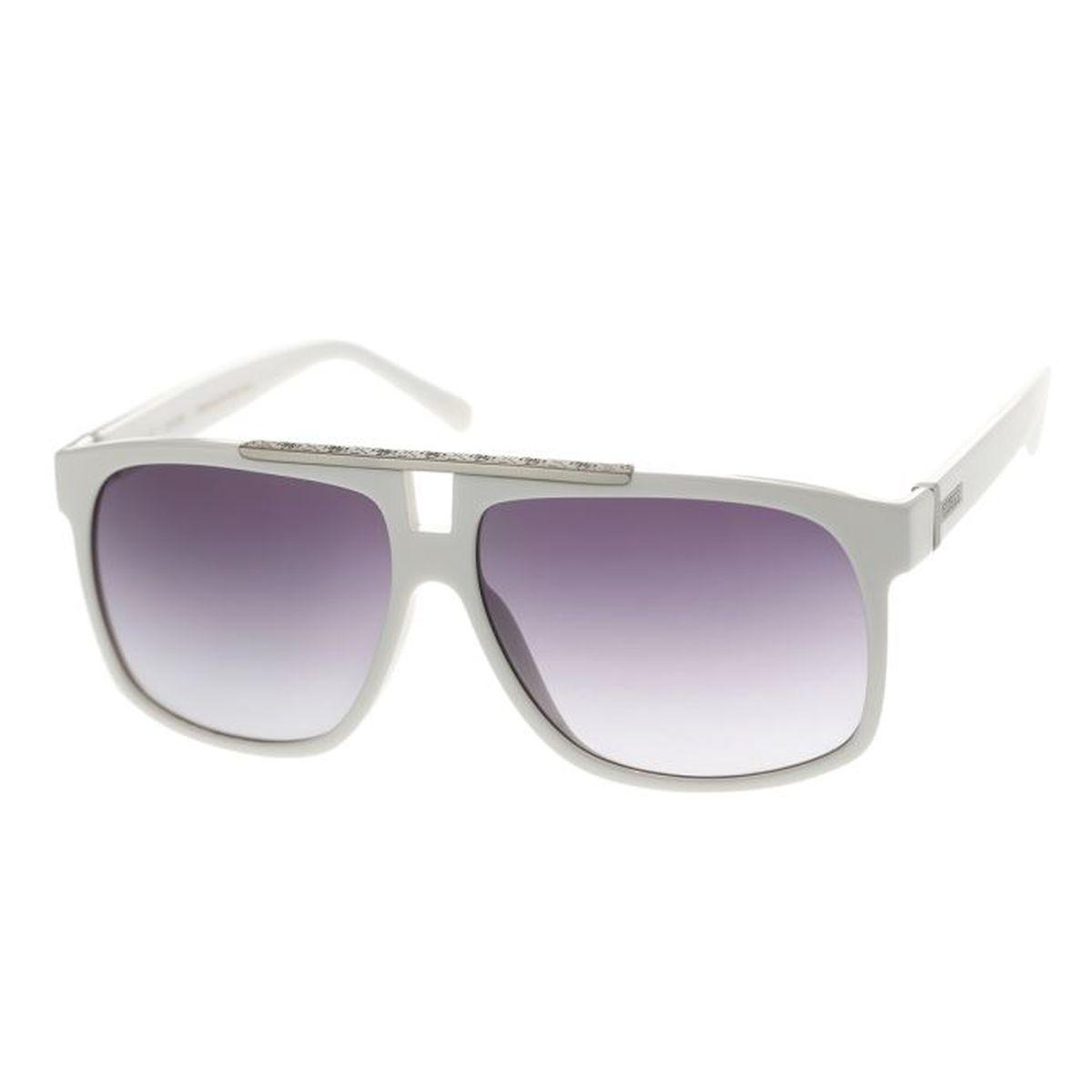 guess lunettes de soleil gu6740 t50 mixte blanc achat vente lunettes de soleil mixte cdiscount. Black Bedroom Furniture Sets. Home Design Ideas