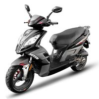 SCOOTER EUROCKA Scooter Virtuality GT 50cc 4T Noir