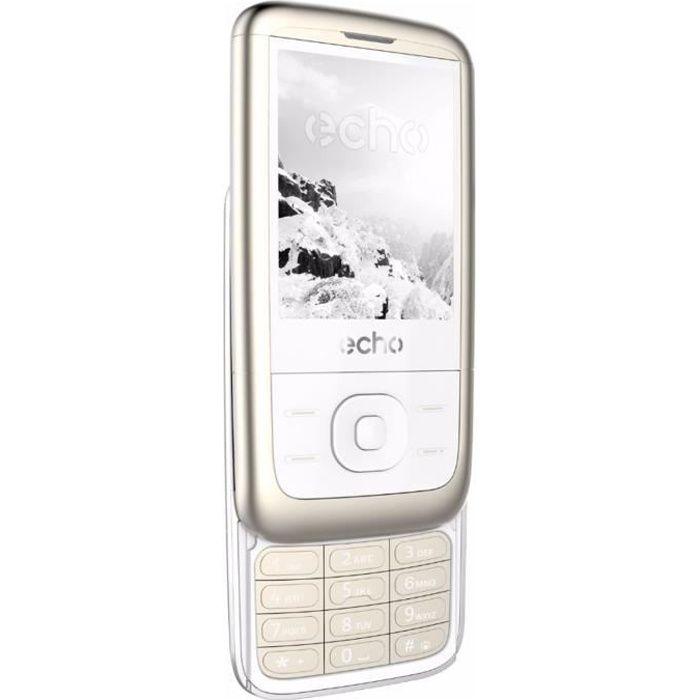 echo slide titan achat t l phone portable pas cher avis et meilleur prix soldes cdiscount. Black Bedroom Furniture Sets. Home Design Ideas