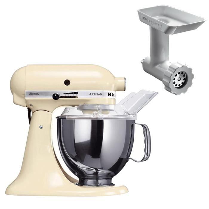 robot kitchenaid 5ksm150pseac hachoir achat vente. Black Bedroom Furniture Sets. Home Design Ideas