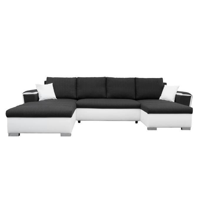 canape en l convertible maison design. Black Bedroom Furniture Sets. Home Design Ideas