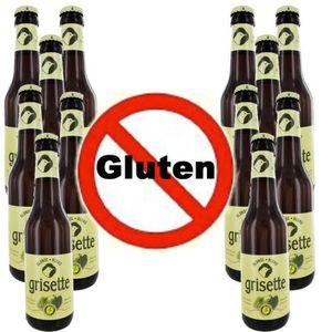 BIÈRE Box de 12 bières sans Gluten GRISETTE BLONDE 5.5°