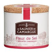 SEL Boite Ronde Fleur de Sel de Camargue 125g