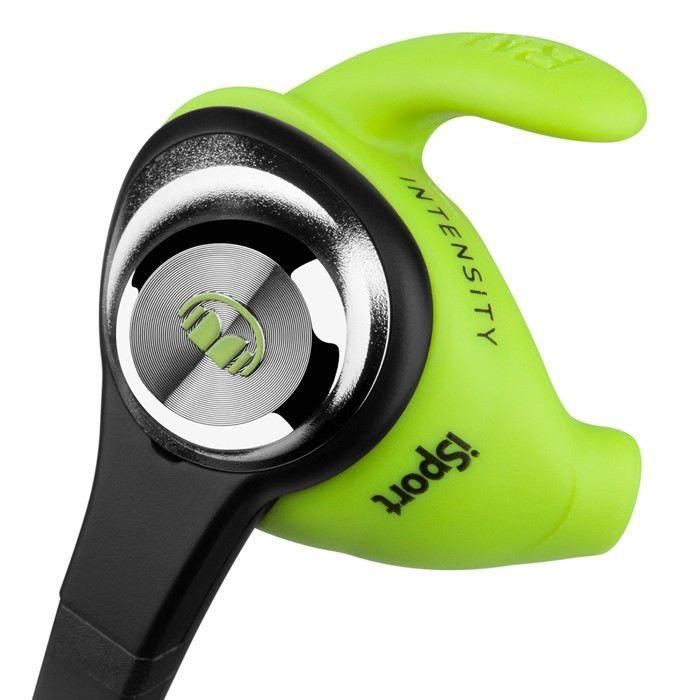 Casque - écouteur Écouteurs Monster iSport Intensity Green