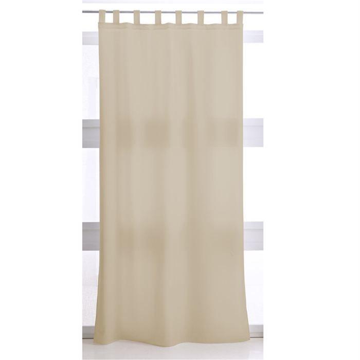 rideau pattes mastic achat vente rideau 100. Black Bedroom Furniture Sets. Home Design Ideas