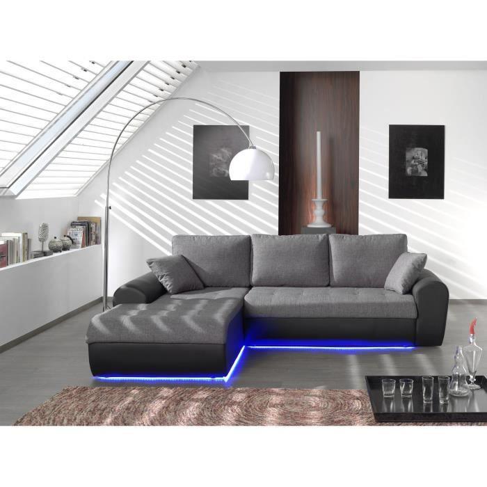 Canape Convertible En Tissu Coloris Gris – Lyon 3123  news-in.info