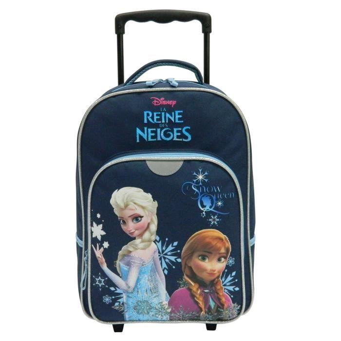 la reine des neiges sac dos trolley enfant fille marine achat vente sac dos frozen sac. Black Bedroom Furniture Sets. Home Design Ideas