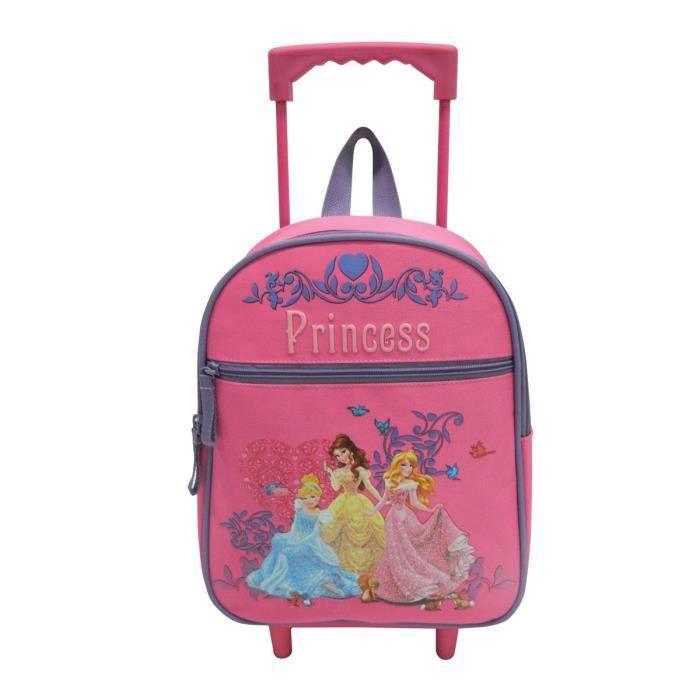 disney princess sac dos trolley enfant fille rose achat vente sac dos 4891320372207. Black Bedroom Furniture Sets. Home Design Ideas