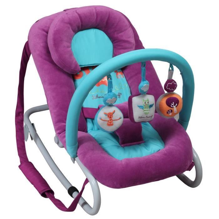 katherine roumanoff transat balancelle violet et turquoise achat vente transat balancelle. Black Bedroom Furniture Sets. Home Design Ideas