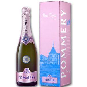 CHAMPAGNE Pommery Brut Rosé livré dans son étui