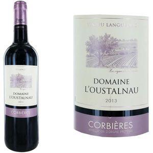 VIN ROUGE Domaine l'Oustalnau Corbières 2013 - Vin rouge