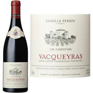 "VIN ROUGE Famille Perrin Vacqueyras "" Les Christins"" 2013 -"