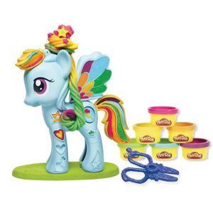 Support à décorer PLAY-DOH My Little Pony Play-Doh Chevelure De Reve
