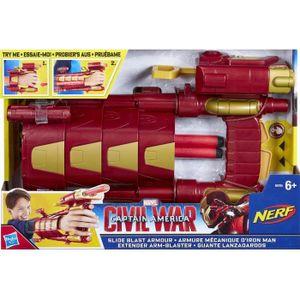 MASQUE - DÉCOR VISAGE AVENGERS - Armure Mecanique Iron Man