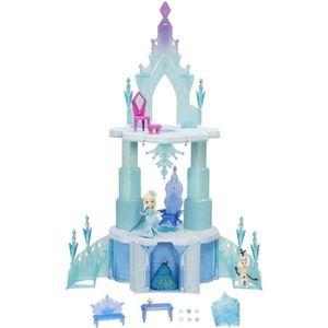 MAISON POUPÉE REINE DES NEIGES Incroyable Château Frozen 50cms
