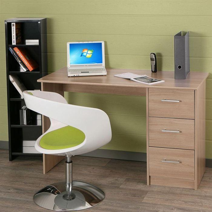 Essentielle bureau classique bruges l 121 cm achat for Achat bureau