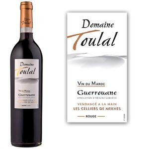 Domaine De Toulal - vin rouge - Maroc - Vendu à l'unité - 1x 75cl