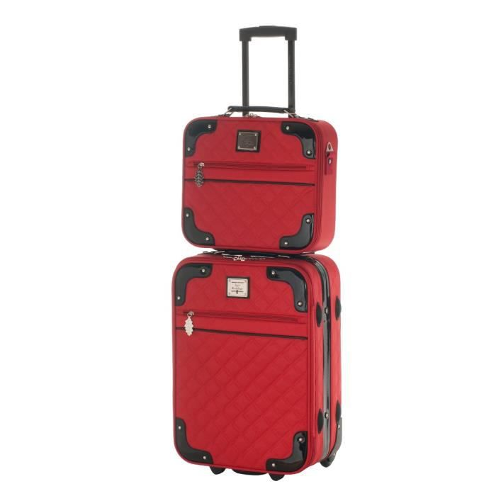 ines de la fressange valise 50cm vanity myosotis achat vente valise bagage ines de