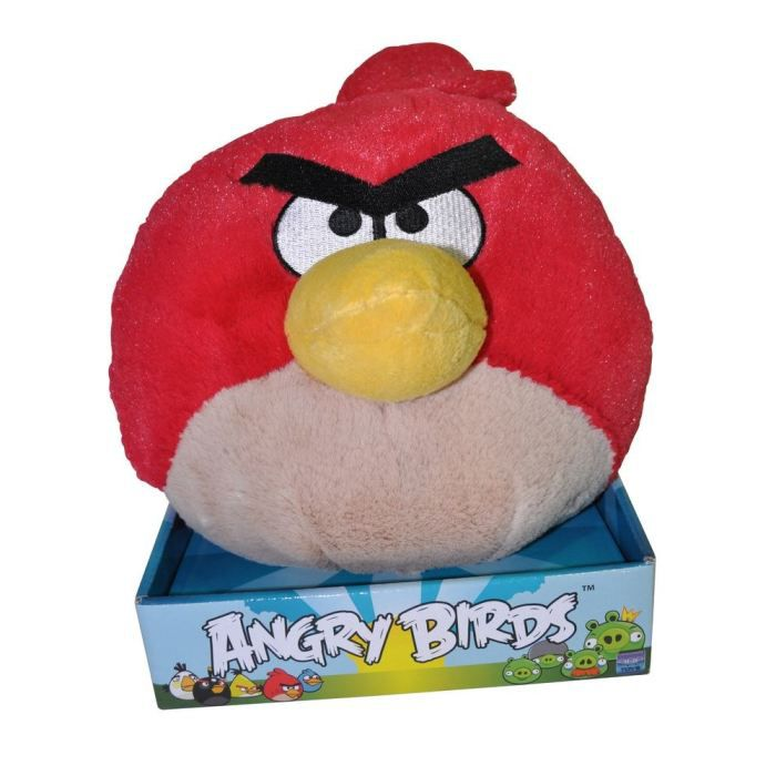 Angry birds peluche oiseau rouge 20 cms achat vente peluche angry birds peluche rouge - Angry birds rouge ...