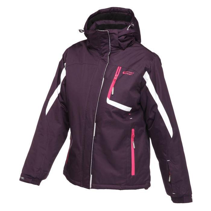 broadpeak veste de ski odda femme achat vente veste cache c ur broadpeak veste de ski odda. Black Bedroom Furniture Sets. Home Design Ideas
