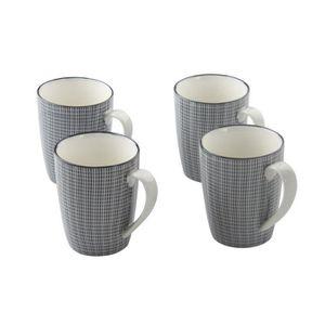 BOL - MUG - MAZAGRAN FINLANDEK Lot de 4 mugs Japonais grain de riz Turk