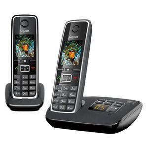 Téléphone fixe GIGASET C530 A Duo Noir