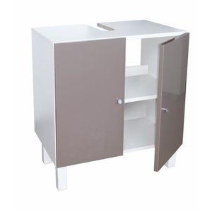 meuble sous lavabo achat vente meuble sous lavabo pas cher les soldes sur cdiscount. Black Bedroom Furniture Sets. Home Design Ideas