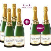 CHAMPAGNE Heidsieck & Co Monopole 3 achetées = 3 OFFERTES