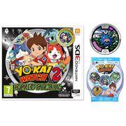 JEU 3DS NOUVEAUTÉ Yo-Kai Watch 2 Esprits Farceurs Jeu 3DS Édition Li