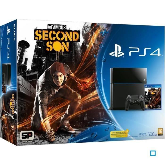 jeux pc video console consoles pack ps  go jeu infamous second son f packpsinfamous