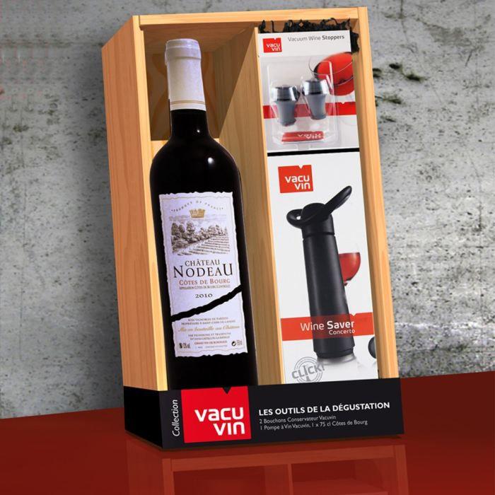 coffret collection vacu vin outils d gustation achat vente coffret cadeau vin coffret. Black Bedroom Furniture Sets. Home Design Ideas