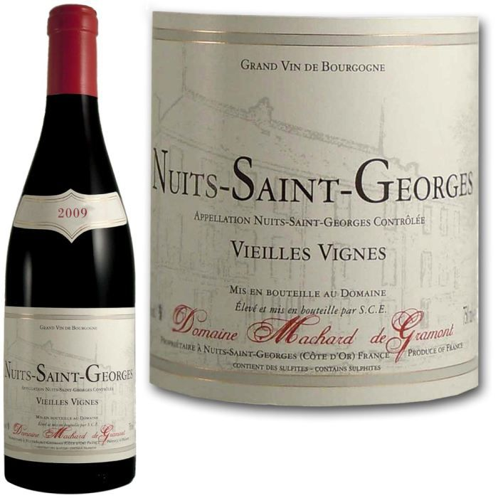 vin champagne rouge nuits st georges mg  f machnuitsvv
