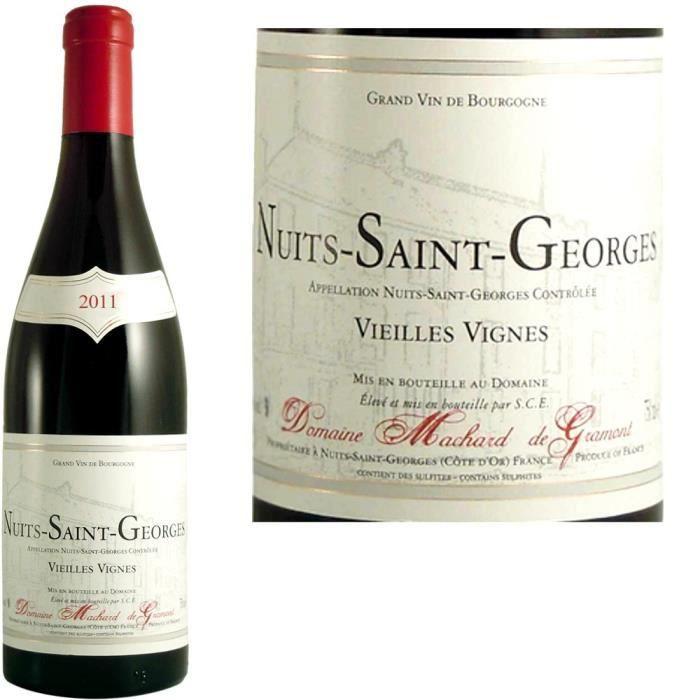 VIN ROUGE Nuits St Georges Machard de Gramont 2011