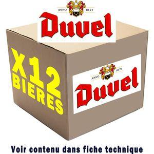 BIÈRE 12 bières Duvel x12