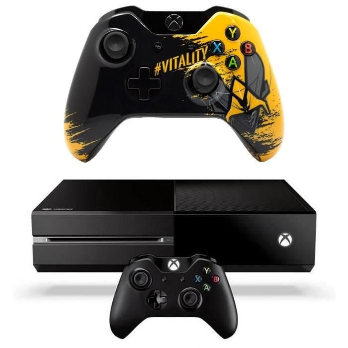 xbox one manette vitality achat vente console xbox one nouv xbox one 2 manettes cdiscount. Black Bedroom Furniture Sets. Home Design Ideas