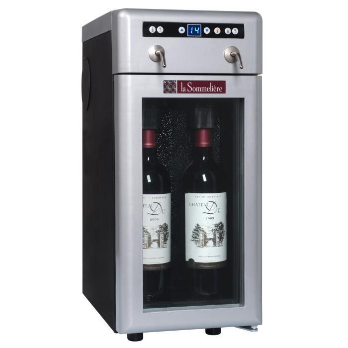 La sommeliere dvv2 service au verre achat vente cave vin la sommeliere - Cave a vin conservation pas cher ...