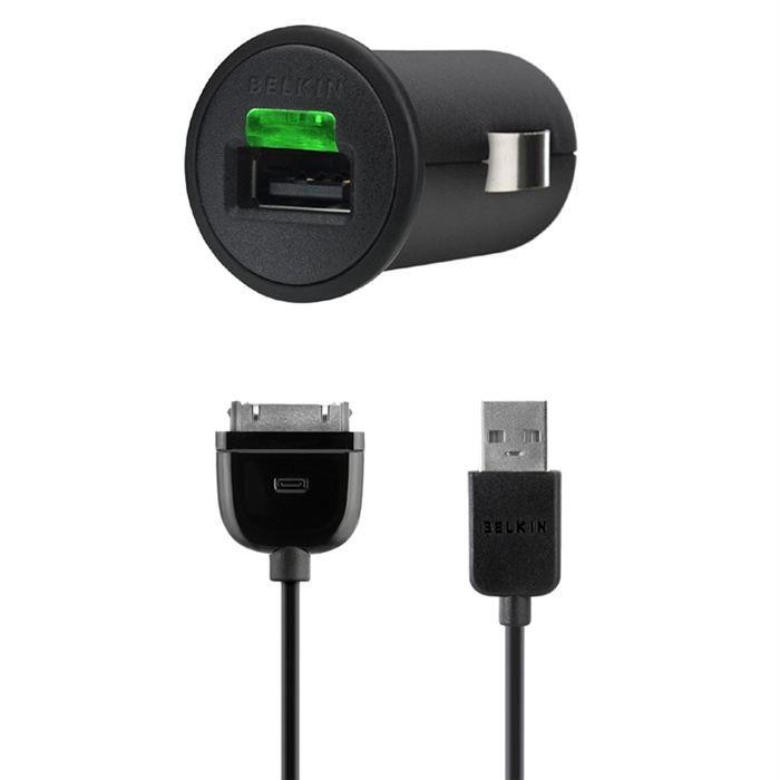 belkin f8z571cw03 micro chargeur voiture achat chargeur t l phone pas cher avis et meilleur. Black Bedroom Furniture Sets. Home Design Ideas