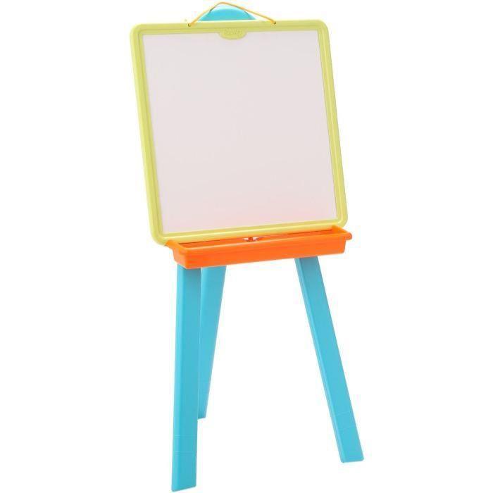 destockage smoby tableau plastique bleu tableau enfant au meilleur prix cdiscount. Black Bedroom Furniture Sets. Home Design Ideas