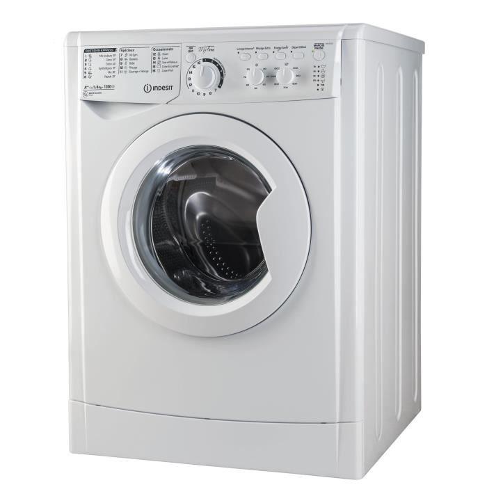 Indesit ewc 81252 w fr lave linge achat vente lave linge cdiscount - Quelle marque de machine a laver choisir ...