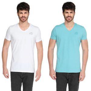 T-SHIRT KAPORAL 5 Lot de 2 T-Shirts Gift Homme